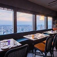 恵比寿ガーデンプレイス39Fの眺望と共に開放的なひとときを