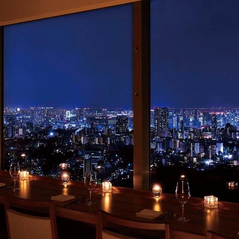 都会の眺望を味わえる空間