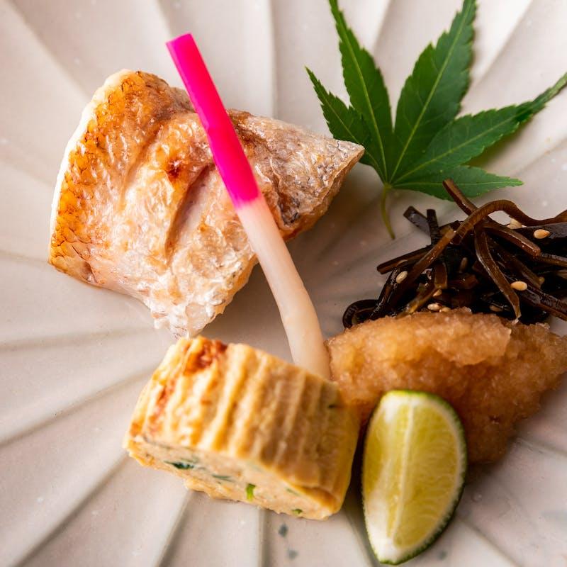 【旬歓】お魚料理と釜炊き御飯など全9品+選べる1ドリンク