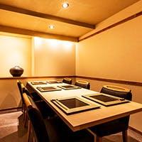 銀座に佇む、日本の風情漂う心和む和空間はゆったりとした時間が流れる大人の和空間