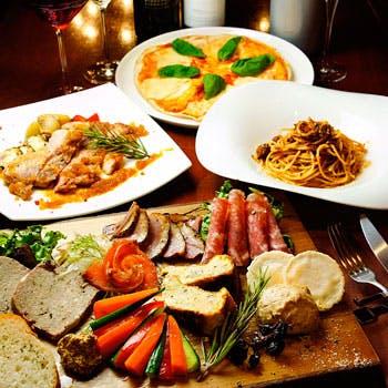 イタリアンをベースにしたオリジナリティ溢れる創作料理