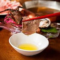お肉やお野菜の素材を引き立てるタレ