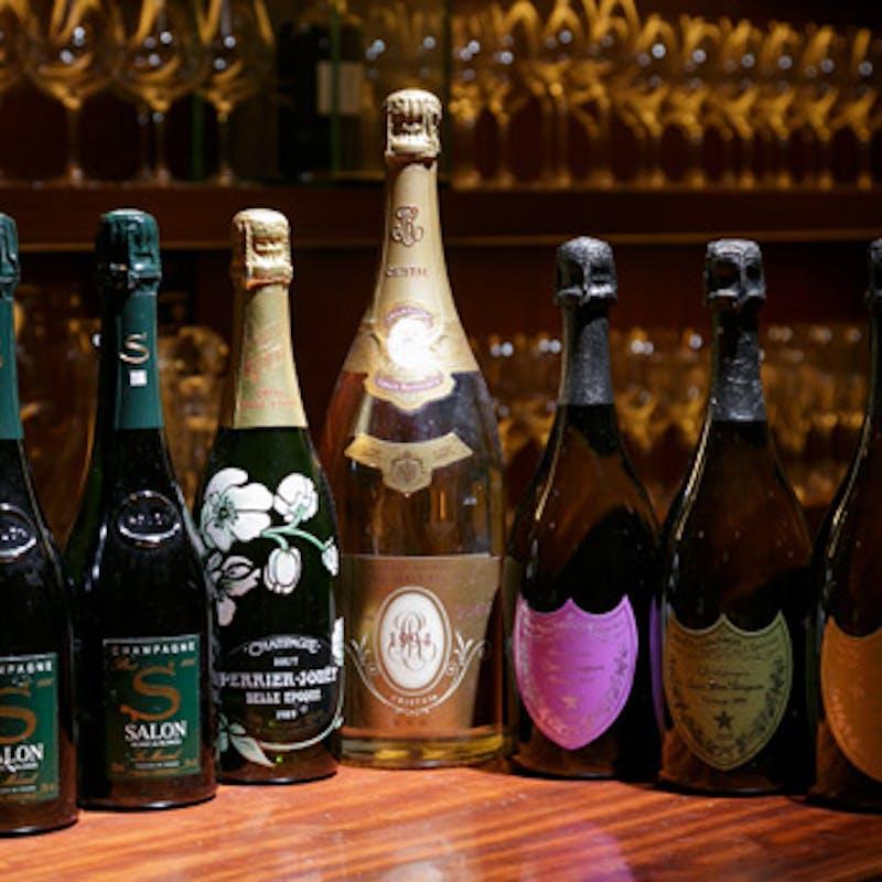 【美食のペアリング】お料理とワインのマリアージュを楽しむ全8品+グラスワイン5種~6種