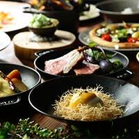 豊富な種類のチーズを前菜からメインまで色々な味で楽しめる、カジュアルリッチなイタリアン