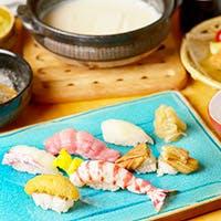 美味しいお鮨と季節の逸品