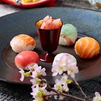 沖縄の素材を活かした日本料理の数々