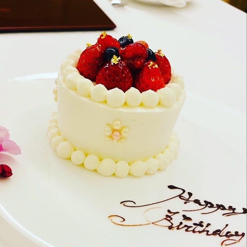 【Menu Anniversary】特産松阪牛や鮑料理等全8品+記念日ホールケーキ(個室)