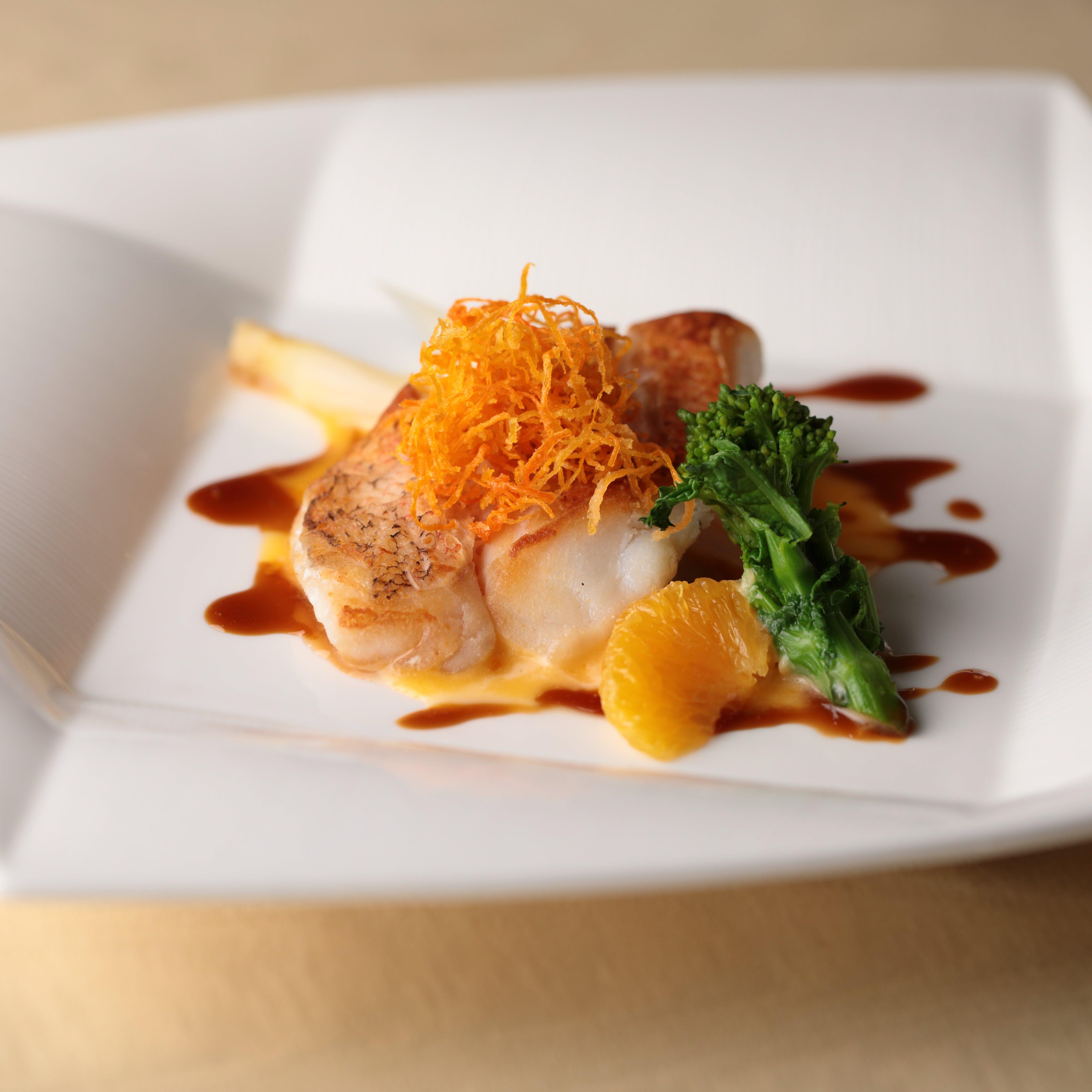 東京會舘伝統のフランス料理