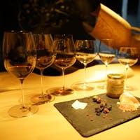 一度の来店で数種類の美味しいワインをお楽しみ頂けます