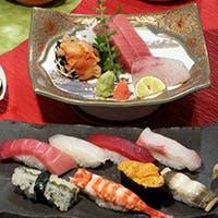 築地で仕入れた新鮮でおいしいネタで、絶品のお寿司をご提供