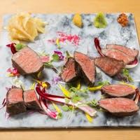 和牛を中心としたお肉料理
