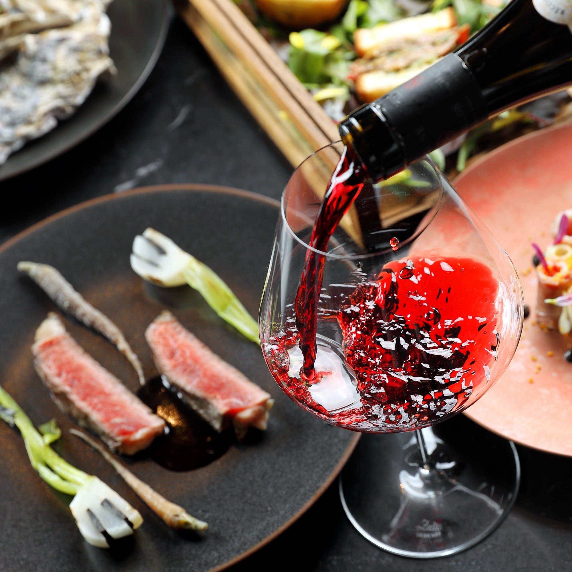 「厳選した希少肉×フレンチ×ワイン」のマリアージュをお楽しみ下さい