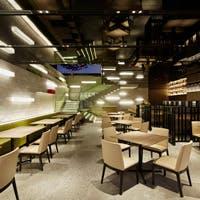 銀座の中心に佇むホテル館内地下1階に広がる隠れ家的レストラン