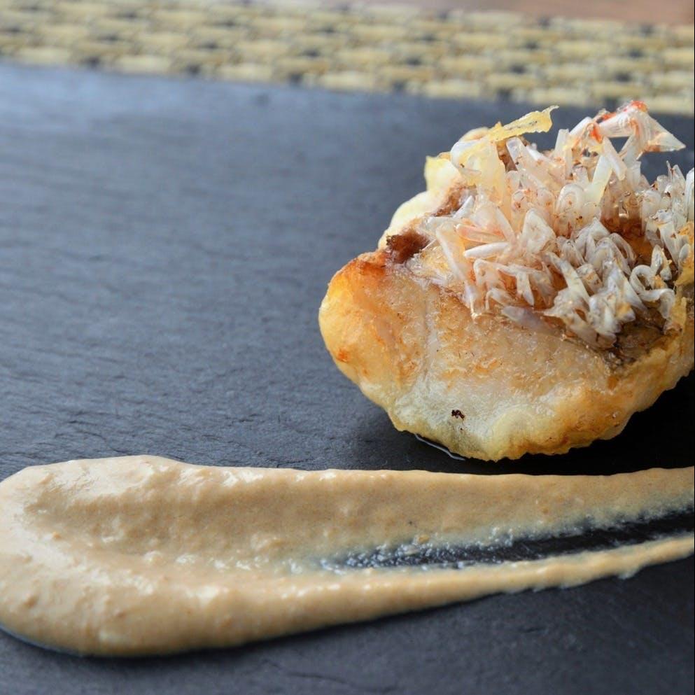 元イタリアンのシェフが創作するこだわりの天ぷら&ソースを堪能