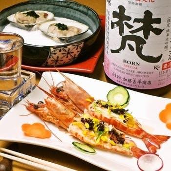 和食の魅力をさらに引き立てる銘酒を共に。