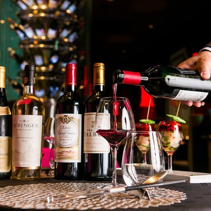中華と合わせて愉しむ世界のお酒