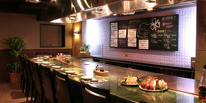 記念日におすすめのレストラン・鉄板処 めぐろの写真1