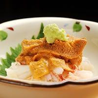季節の一番美味しい食材をつかった極上のお寿司をどうぞ