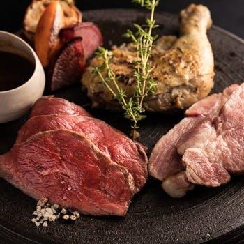 厳選肉3種食べ比べ