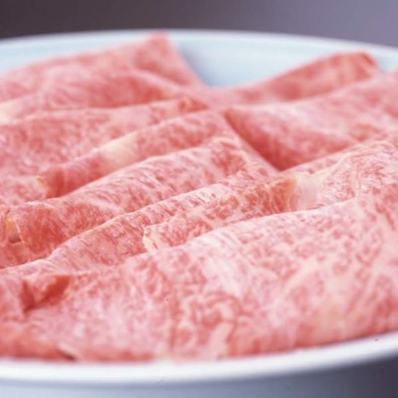 【前沢牛しゃぶしゃぶ】(お食事セット)