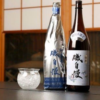 旨い日本酒に舌鼓