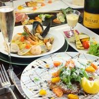 「旬の素材の味を活かすイタリア料理」