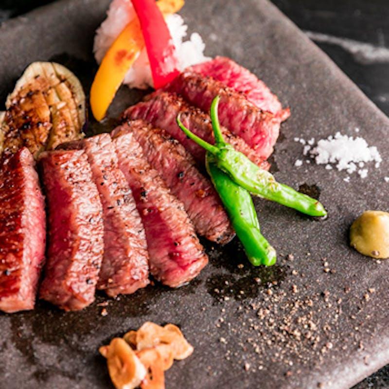 【燦燈コース】大切な方へのおもてなしに。活け伊勢海老の鉄板焼や黒樺牛ステーキなど当店最高級のコース