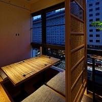 赤坂見附駅より30秒の好立地 会食に嬉しい和の完全個室も魅力