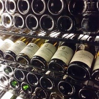 200種類にも及ぶワインリスト