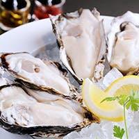 衛生管理の行き届いた新鮮な生牡蠣をご提供しております