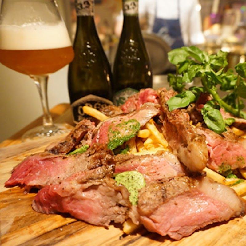 【スタンダードプラン】お勧め前菜盛合せ、薪焼肉など全7品+2時間飲み放題