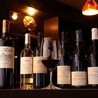 ワインと日本酒に特にこだわっております