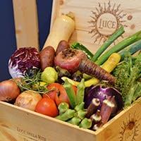 歴史ある契約農家さんより仕入れる安心の有機野菜