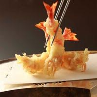 揚げたての天ぷらと愉しむ豊富なお酒