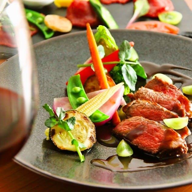 フランス・イタリアそれぞれの魅力を結集した料理