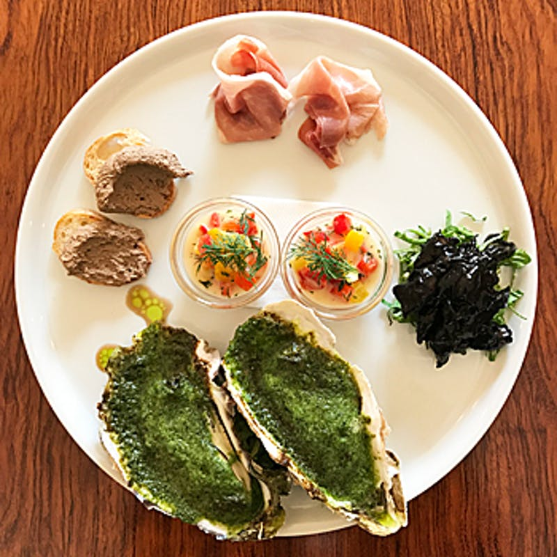 【コースB】鮮魚のカルパッチョ、その日のおすすめから選べるメインなど全5品