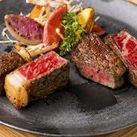 焼肉KINTANだからできる「さまざまな部位」をステーキで