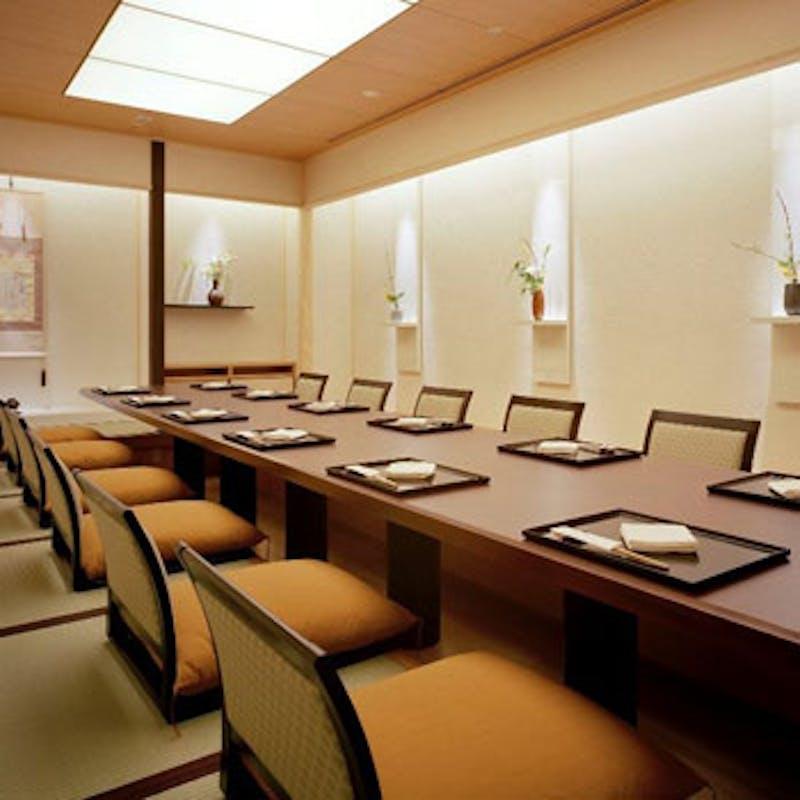 【本格会席】前菜、造り、焼物、天ぷらなど+乾杯シャンパン(お座敷個室確約)