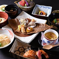 四季折々の食材を使用した会席料理