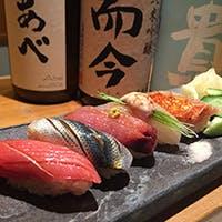 拘りぬいた米と魚で一貫一貫丁寧に握ります
