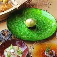 シェフの個性溢れる独創的なフランス料理