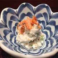 旬の野菜と魚介を使った体に優しいお料理