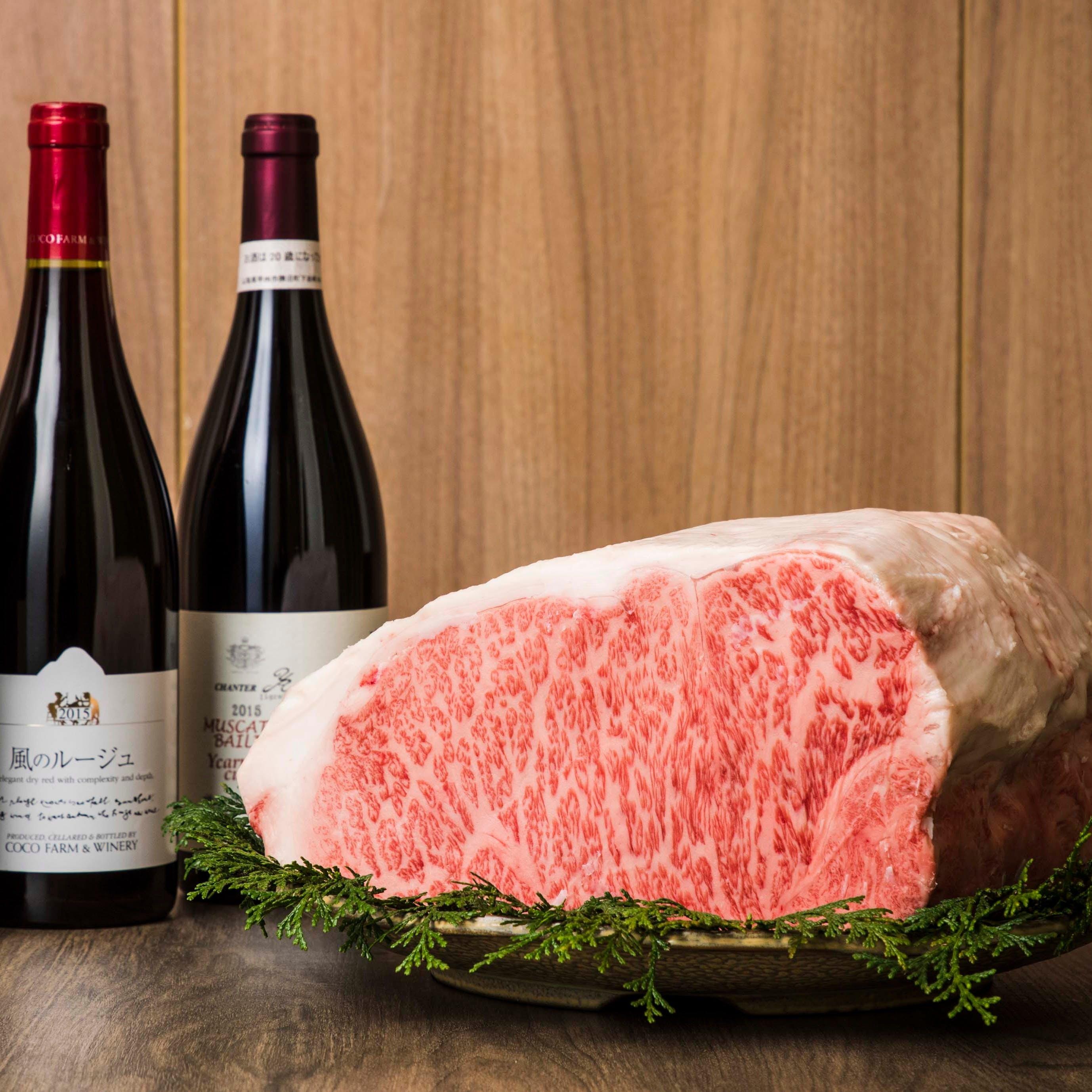 お肉に合わせた美味しいワインを