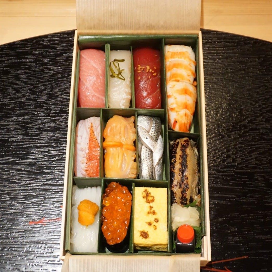 【テイクアウト】別選握り寿司「10貫+自家製玉子」