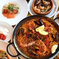 朝採れの鮮魚を本格スペイン料理で堪能