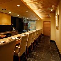 洗練された空間と美しい京料理
