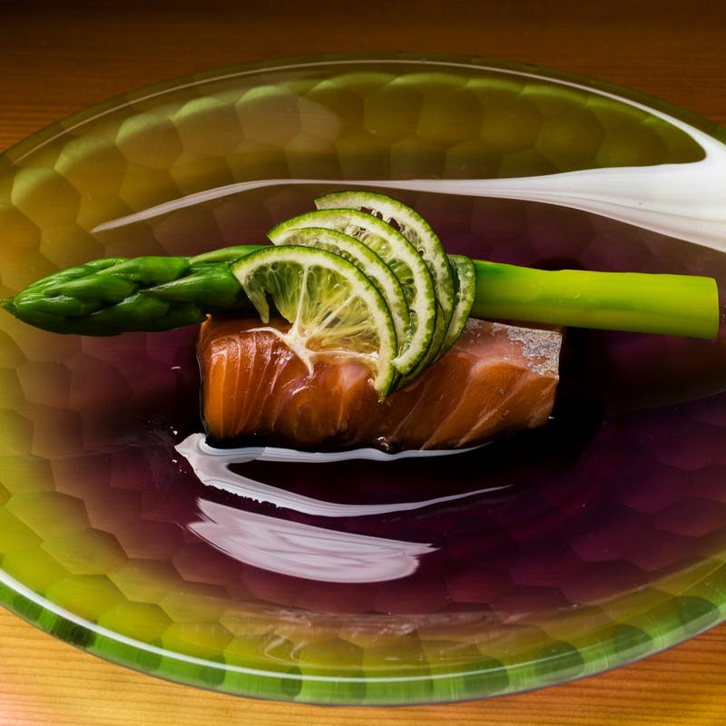 【昼のコース】焼物、八寸など+カウンター席(リクエスト予約)