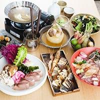 当店だけにしかない特別ルートで仕入れる漁港直送の福井の極上魚介とお酒を愉しむ
