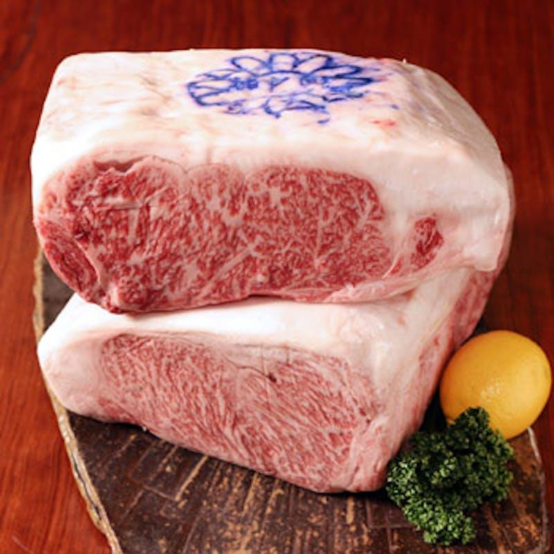【神戸牛サーロインステーキコース】神戸牛の向付、デザートなど全7品