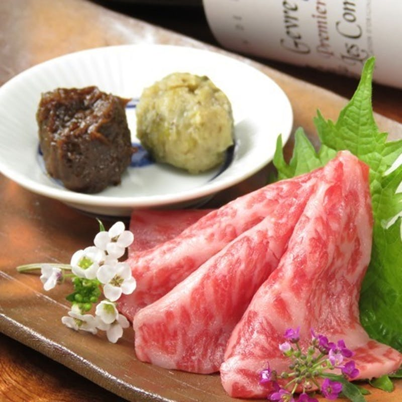 【黒毛和牛フィレステーキコース】神戸牛の向付、デザートなど全7品(150g)